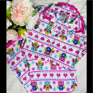 """Other - 💗""""Little Owls""""🦉Girls Flannel Pajama Set"""